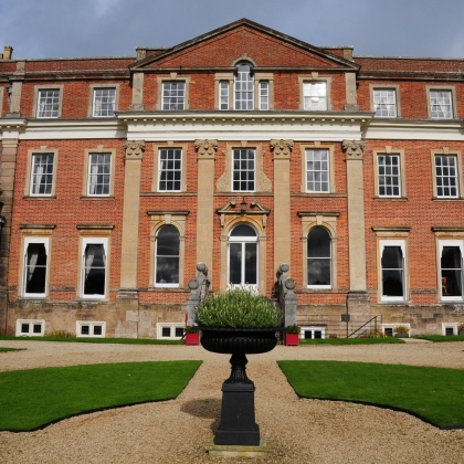 Magnificent House Built In The 1730s English Baroque Style